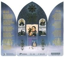 "BRAZIL  2018  - CHRISTMAS 2018 - 200 YEARS OF THE CHRISTMAS  SONG ""SILENT NIGHT""  - SOUVENIR SHEET 2 STAMPS -  MNH - Brazil"