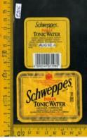 Etichetta Bibita Acqua Minerale Tonica Schweppes - Etichette