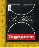 Etichetta Bibita Acqua Minerale Tonica Togoperle - Etichette