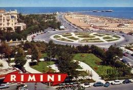 Rimini - Aiuole E Viali - Formato Grande Viaggiata Mancante Di Affrancatura – E 10 - Rimini