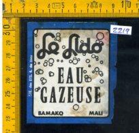 Etichetta Bibita Acqua Minerale Tonica Bamako Mali - Etichette
