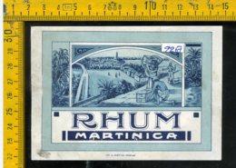 Etichetta Vino Liquore Rhum Martinique - Etiquettes