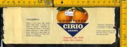 Etichetta Alimentare Confetture Cirio - Etichette