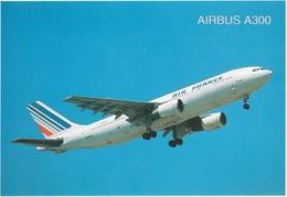 D718 AIR FRANCE - AIRBUS A300 EN PLEIN VOL - 1946-....: Ere Moderne