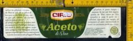 Etichetta Alimentare Aceto Cirio - Etichette