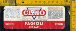 Etichetta Alimentare Cirio - Etichette
