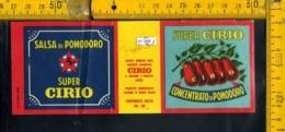 Etichetta Alimentare Salsa Di Pomodoro Cirio - Etichette