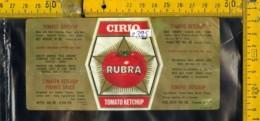 Etichetta Alimentare Ketchup Cirio - Etichette