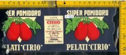 Etichetta Alimentare P. Pelati Cirio - Etichette
