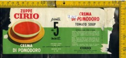 Etichetta Alimentare Zuppe Cirio - Etichette