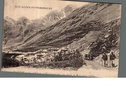 Cpa 04 Maurin Vue Générale Au Fond Le Panestret Les Alpes Pittoresques Déstockage à Saisir - Sonstige Gemeinden