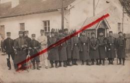 (Oise) Noyon - 60 - Militaria : Carte Photo, Soldats à Noyon (voir Verso) - Noyon