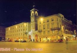 Rimini - Piazza Tre Martiri - Notturno - 15130 - Formato Grande Non Viaggiata – E 10 - Rimini
