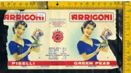 Etichetta Alimentare Piselli Arrigoni - Etichette