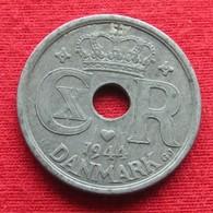 Denmark 25 Ore 1944 KM# 823.2a  Dinamarca Danemark Denemarken Danimarca - Danemark