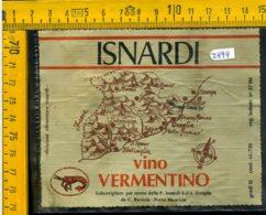 Etichetta Vino Liquore Vermentino 1974  Isnardi Porto Maurizio - Other