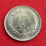 Iran 2 Rials 1983 / SH 1362 KM# 1233 Lt 590  Irão Persia Persien - Iran