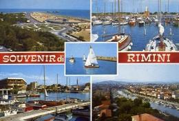 Souvenir Di Rimini - 7 - Formato Grande Viaggiata – E 10 - Rimini