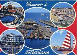 Souvenir Di Riccione - 40 - Formato Grande Viaggiata – E 10 - Rimini