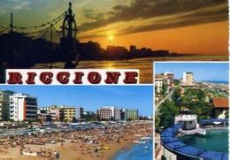 Riccione - 1747 - Formato Grande Viaggiata – E 10 - Rimini