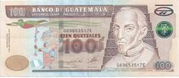 100 QUETZALS 2010 - Guatemala
