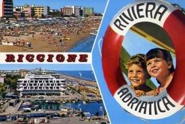 Riccione - 2175 - Formato Grande Viaggiata – E 10 - Rimini