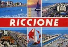 Riccione - 72 - Formato Grande Viaggiata – E 10 - Rimini