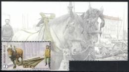 Belgium 2019 MNH, Animals At Work, Horse, Cheval, Pferd, Paard - Chevaux