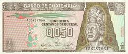 0,50 QUETZAL 1989 - Guatemala
