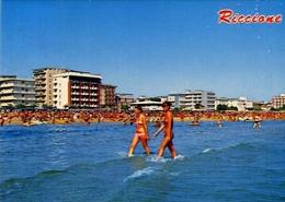 Riccione - Alberghi Visti Dal Mare - 541 - Formato Grande Viaggiata – E 10 - Rimini