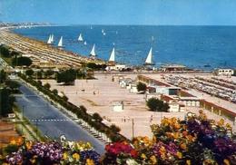 Riccione - La Spiaggia - 46 - Formato Grande Viaggiata – E 10 - Rimini