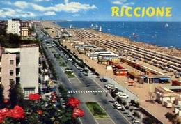 Riccione - Lungomare - 184 - Formato Grande Non Viaggiata – E 10 - Rimini