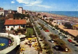 Riccione - Lungomare E Spiaggia - 703 - Formato Grande Viaggiata – E 10 - Rimini