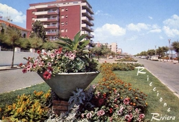 Riccione - Riviera - 18 - Formato Grande Viaggiata - E 10 - Rimini