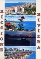 Riccione - Riviera - 81 - Formato Grande Viaggiata - E 10 - Rimini