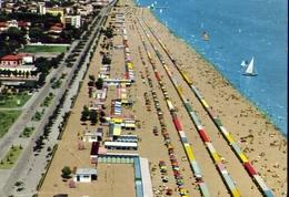 Riccione - Veduta Generale - Lungomare E Spiaggia - 6 - Formato Grande Viaggiata – E 10 - Rimini