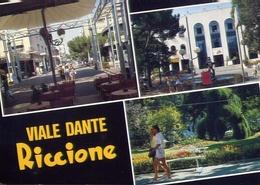 Riccione - Viale Dante - 184 - Formato Grande Viaggiata – E 10 - Rimini