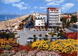 Ricicone - Albergi - Lungomare E Spiaggia - 49 - Formato Grande Viaggiata – E 10 - Rimini