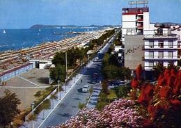 Ricicone - Albergi - Lungomare E Spiaggia - 59 - Formato Grande Viaggiata – E 10 - Rimini