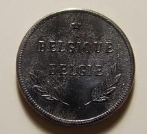 Belgium 2 Francs 1944 Varnished - 1934-1945: Leopold III