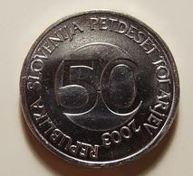 Slovenia 50 Tolarjev 2003 Varnished - Slovénie