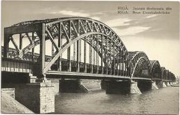 W718 Riga - Jaunais Dzelsceala Tilts - Neue Eisenbahnbrucke / Non Viaggiata - Lettonia