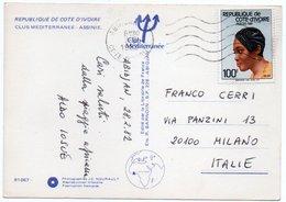 COTE D'IVOIRE - CLUB MEDITERRANEE - ASSINIE / THEMATIC STAMP- - Costa D'Avorio