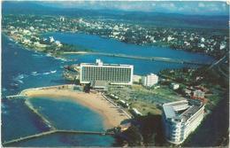 W720 Puerto Rico - Flying Clipper View Of San Juan - Aerial View - Pan American World Airways / Non Viaggiata - Puerto Rico