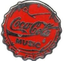 Pin's  ** COCA-COLA MUSIC ** Decat Paris Très Bon Etat - Coca-Cola