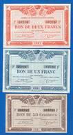 Quimper  Et  Brest  3  Billets - Mauritius