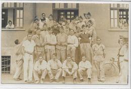 57 SARRALBE . Carte-Photo , Camp Militaire , Chenus 41ème RMIC , CM5 , édit : Sans , écrite 6/9/1938 , état Extra - Sarralbe