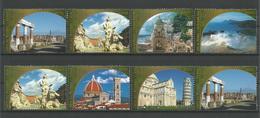 United Nations V. 2002 World Heritage Italy Y.T. 384/391 ** - Wien - Internationales Zentrum