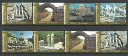 United Nations V. 2004 World Heritage Greece Y.T. 432/439 ** - Wien - Internationales Zentrum