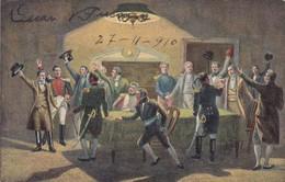 LA NOCHE DEL 20 DE MAYO DE 1810 (SEGUN PINTURAS DE AQUELLA EPOCA). EDITOR SALVATORE LIGUORI. CIRCA 1910s - BLEUP - Peintures & Tableaux